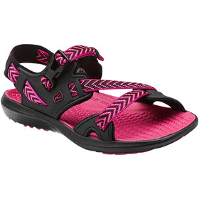 Keen Maupin Sandalias Mujer, black/very berry